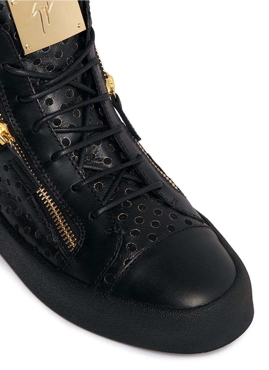 Lyst Giuseppe Zanotti May London Leather Mid Top