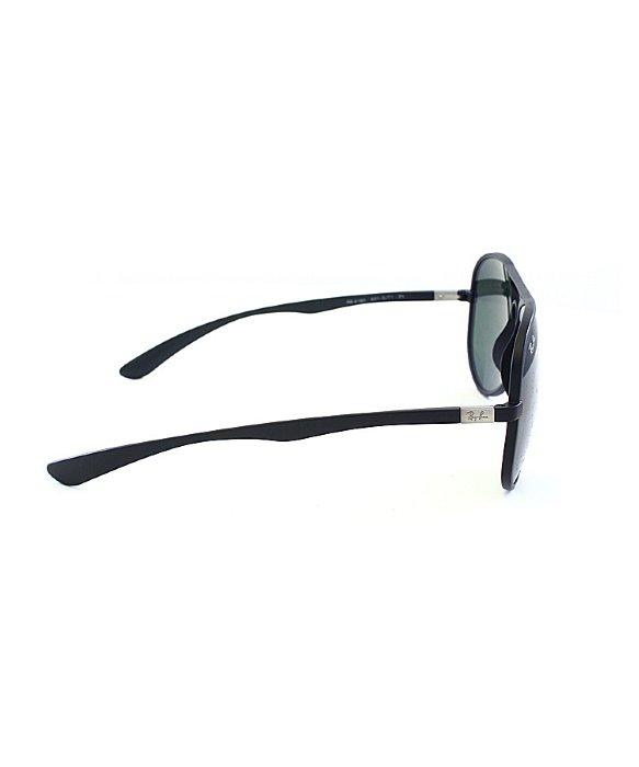 59c6c64b60c Ray-ban Ray Ban Tech Rb4180 Liteforce Aviator 601s71 Matte Black Sunglasses  Green Lens in