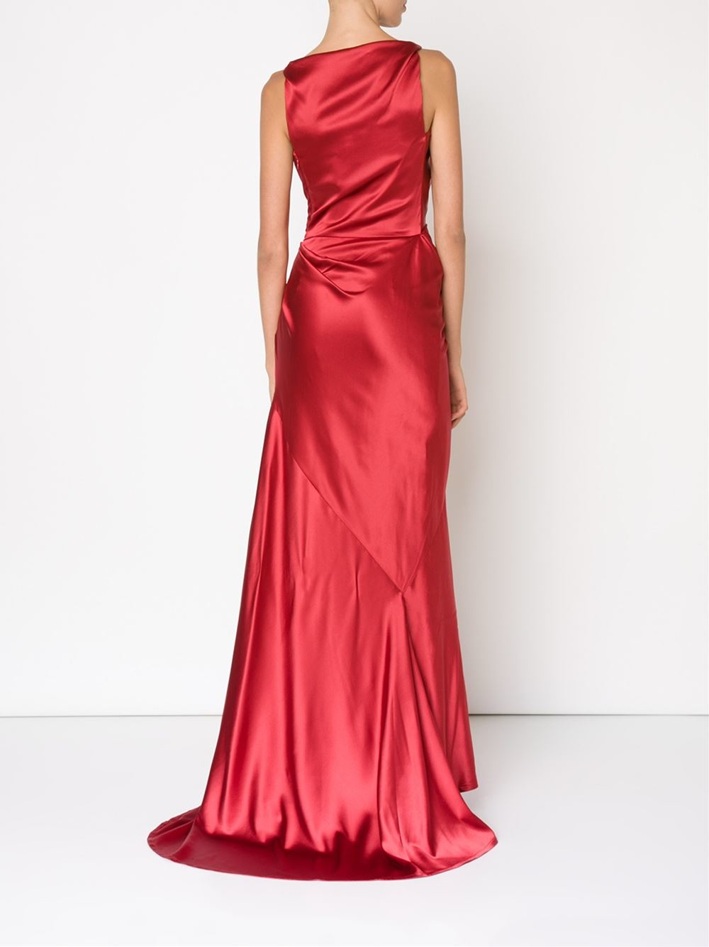 Vivienne Westwood Red Label Draped Evening Dress In Red Lyst