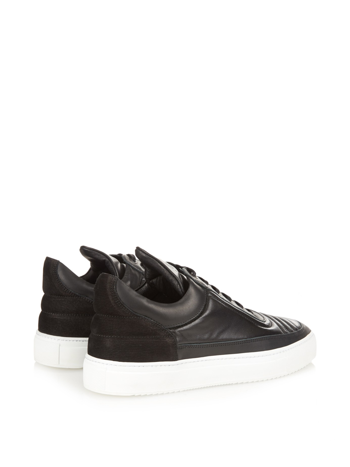 Filling pieces Leather Low Trainers BElEpOID36