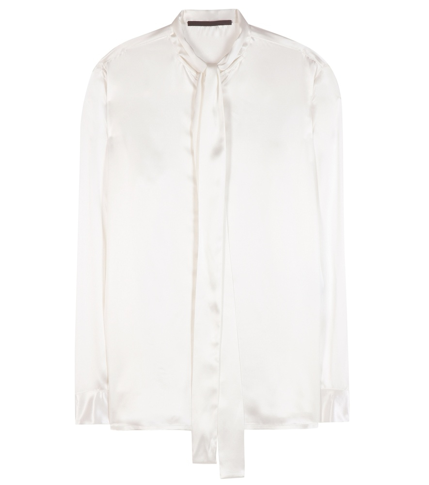 haider-ackermann-ivory-silk-blouse-white