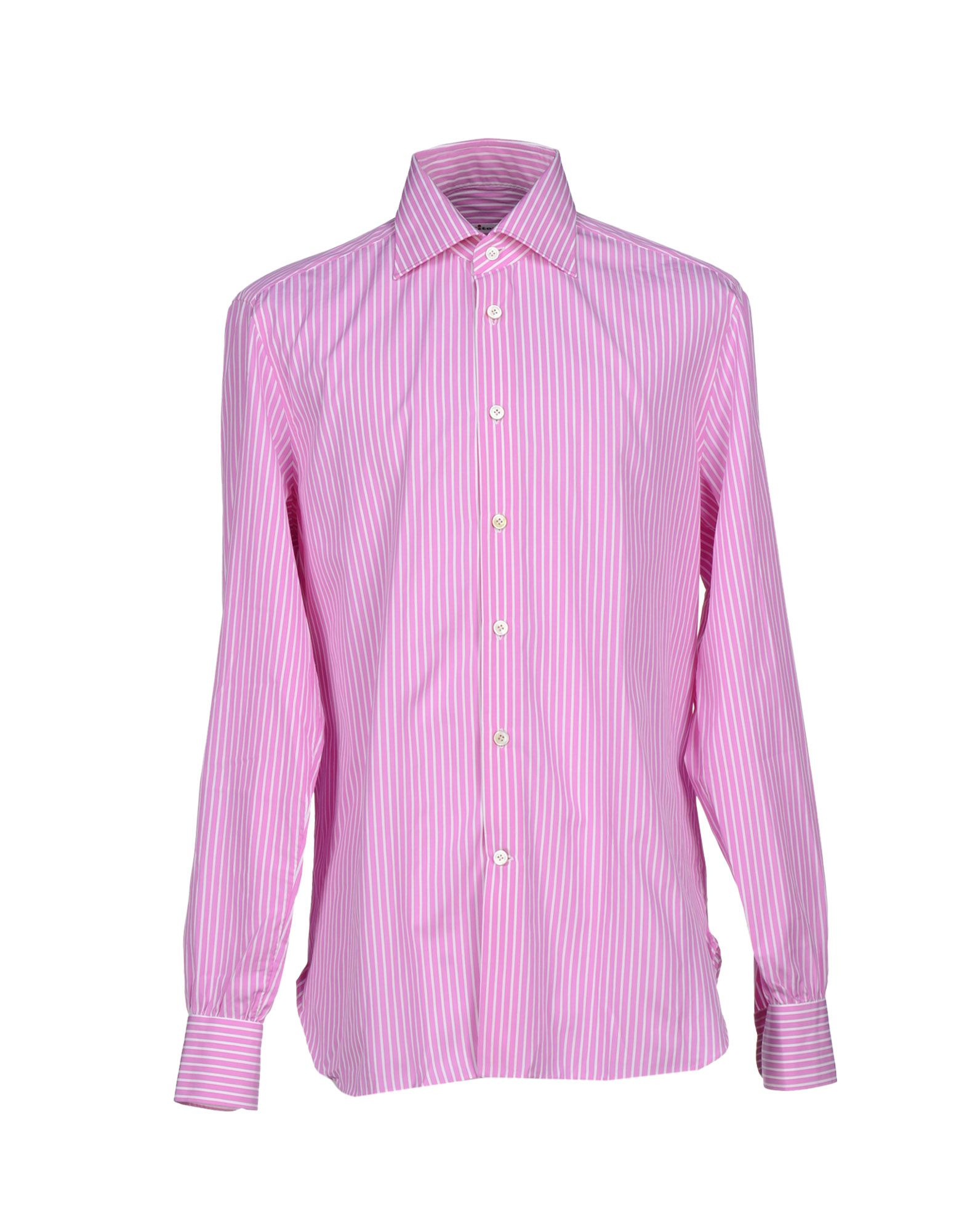 Kiton shirt in purple for men lyst Light purple dress shirt men
