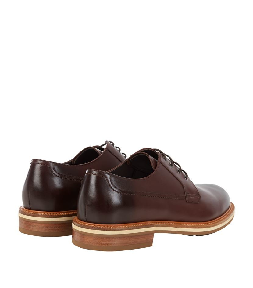 Ermenegildo zegna Notting Hill Derby Shoe in Brown for Men - Lyst