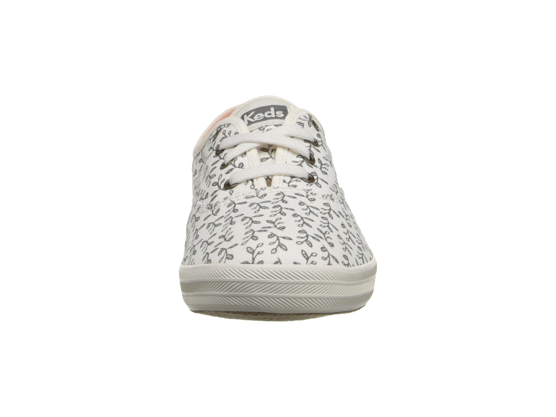 ef99a883538815 Lyst - Keds Champion Botanical Leaves in White
