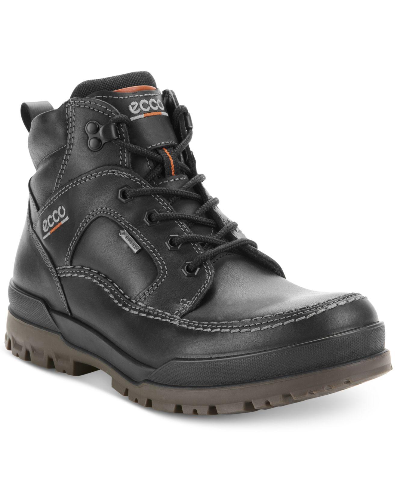 Ecco Track Vi Gtx Gore tex Waterproof Boots In Black For