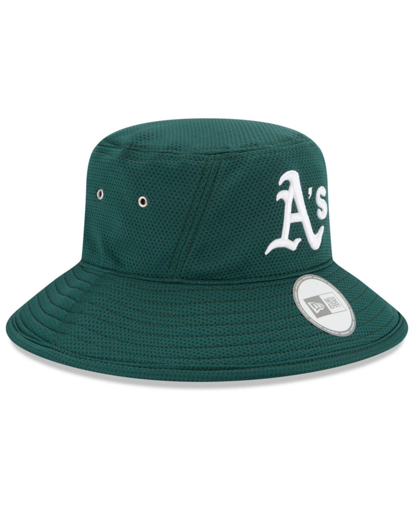 e843b57b138 low price lyst ktz oakland athletics redux bucket hat in green f627b a5870