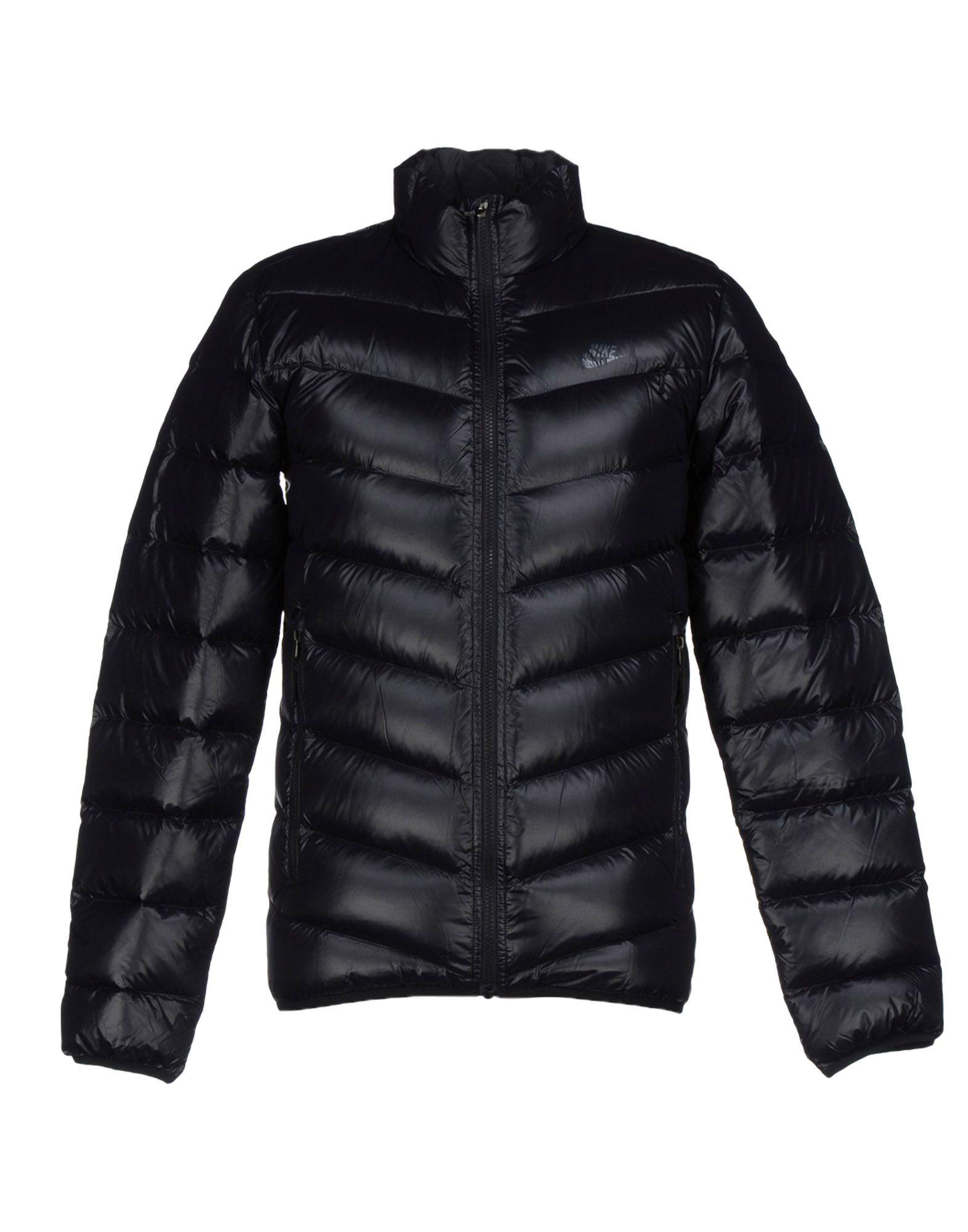 Nike Down Jacket in Black for Men