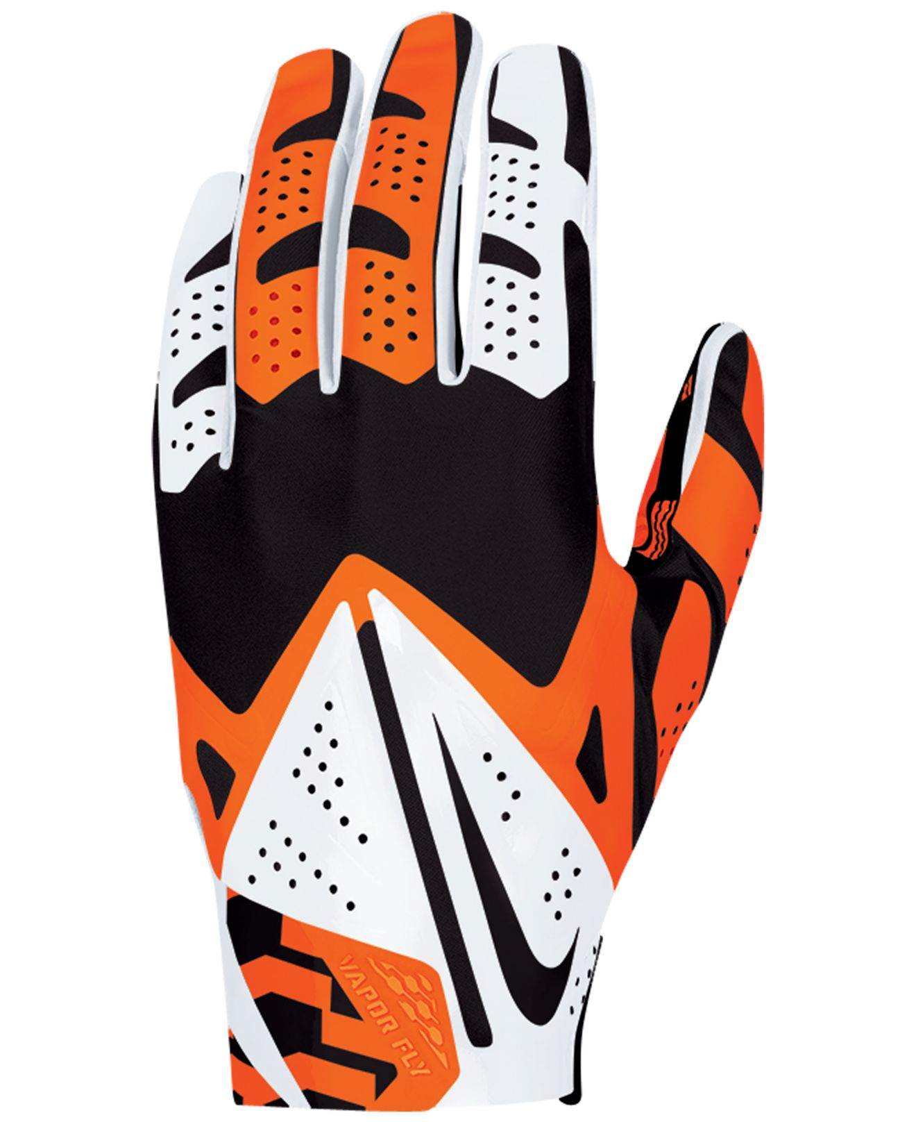 sports shoes 6131e 510f0 Nike Black Cincinnati Bengals Vapor Fly Team Authentic Glove for men