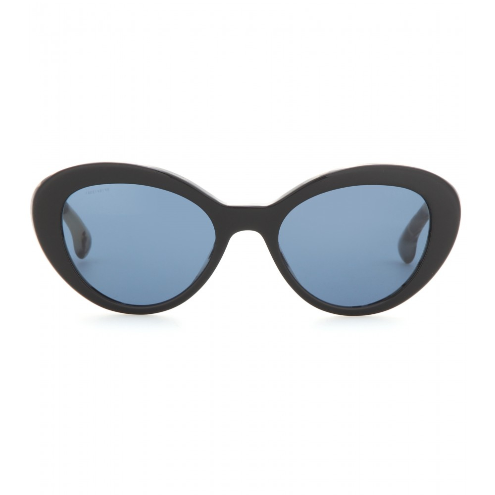 Prada Cat-eye Sunglasses in Black   Lyst