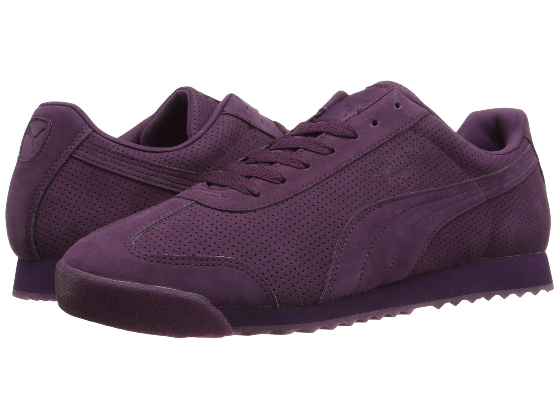 Men S Plum Puma Shoes