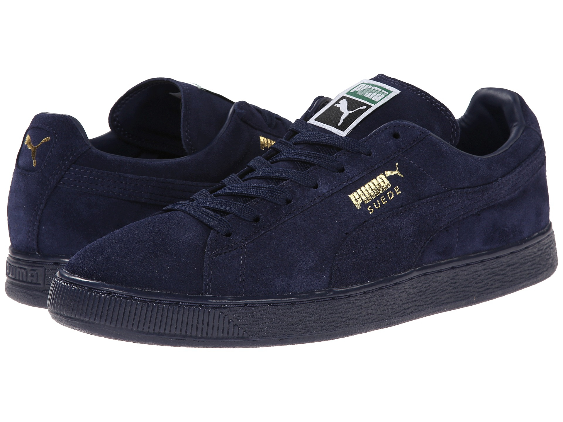 the best attitude 512ef 81769 Men's Blue Suede Classic+ Iced