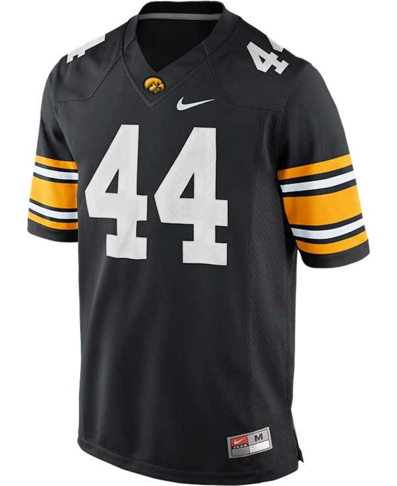 Lyst - Nike Men S Iowa Hawkeyes Limited Football Jersey in Black for Men 391a32133