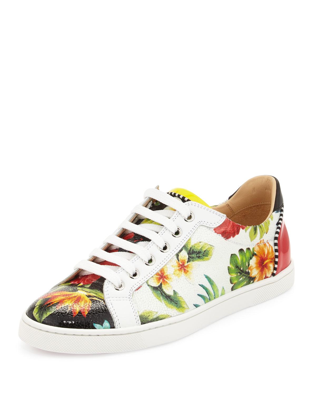 00792d926fc Christian Louboutin Multicolor Seava Hawaii Low-top Sneaker