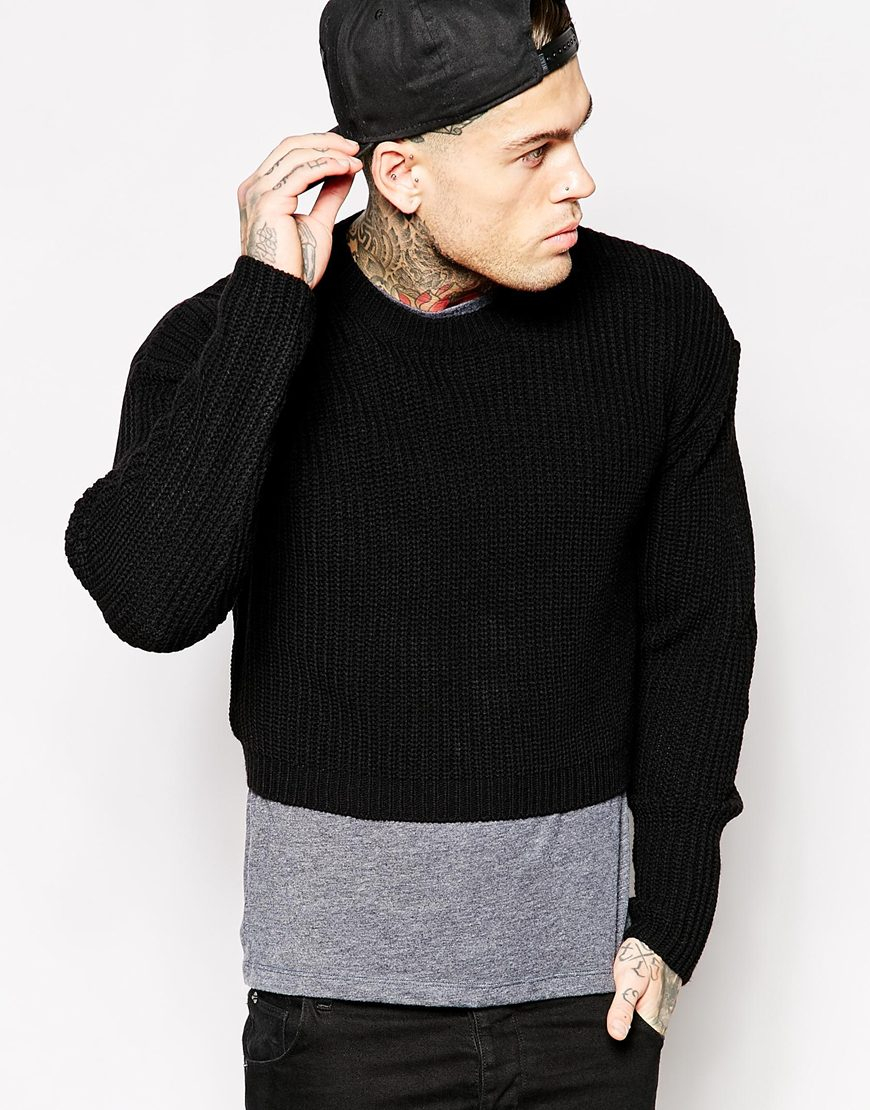 Turtleneck Shirt Mens