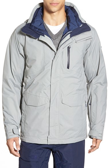 ab3e63d68 The North Face Gray Thermoball Triclimate 3-in-1 Waterproof Snow Jacket for  men