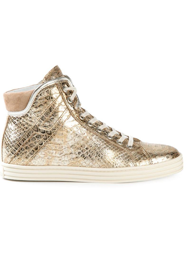 hi-top sneakers - Metallic Hogan 8gujww
