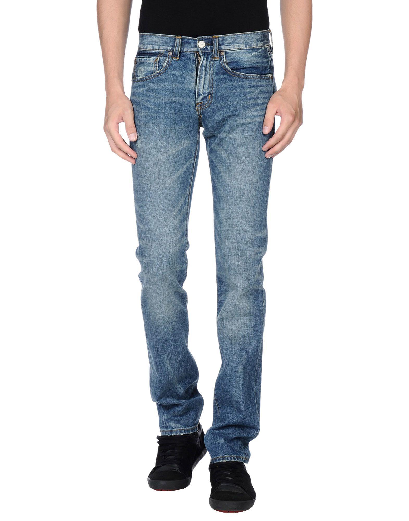 denim supply ralph lauren denim trousers in blue for men. Black Bedroom Furniture Sets. Home Design Ideas