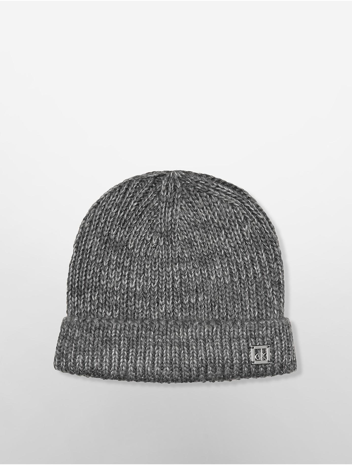 Knitting Pattern For Mohair Beanie : Calvin klein White Label Mohair Knit Beanie in Gray for Men (GREY SLATE) Lyst