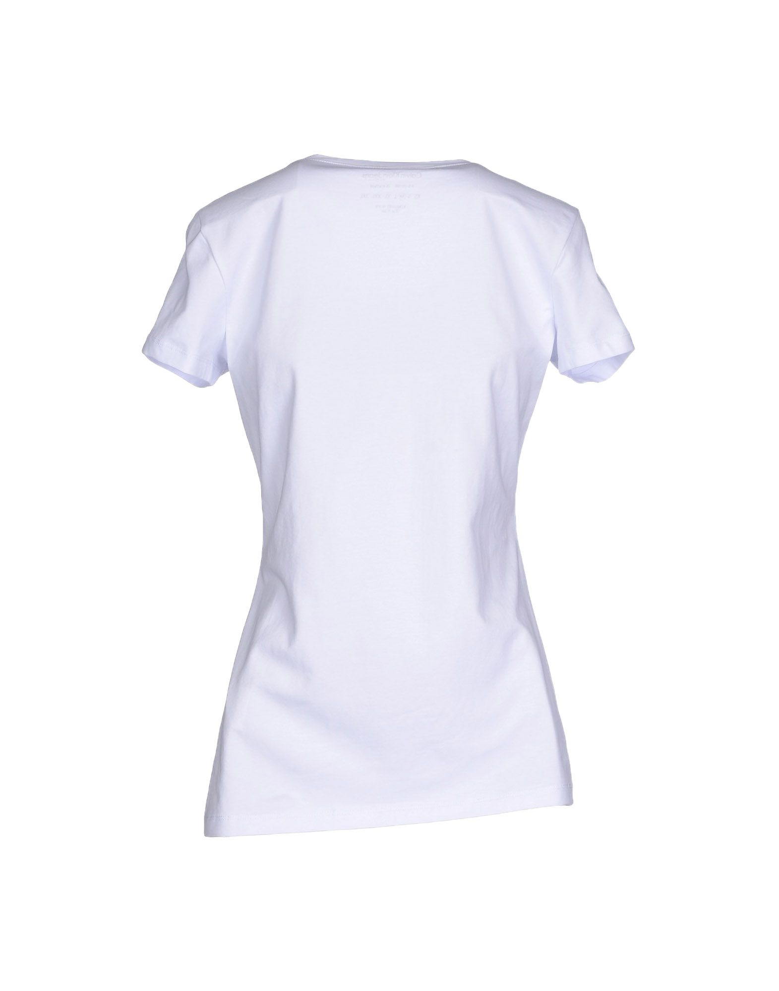 lyst calvin klein jeans t shirt in white. Black Bedroom Furniture Sets. Home Design Ideas