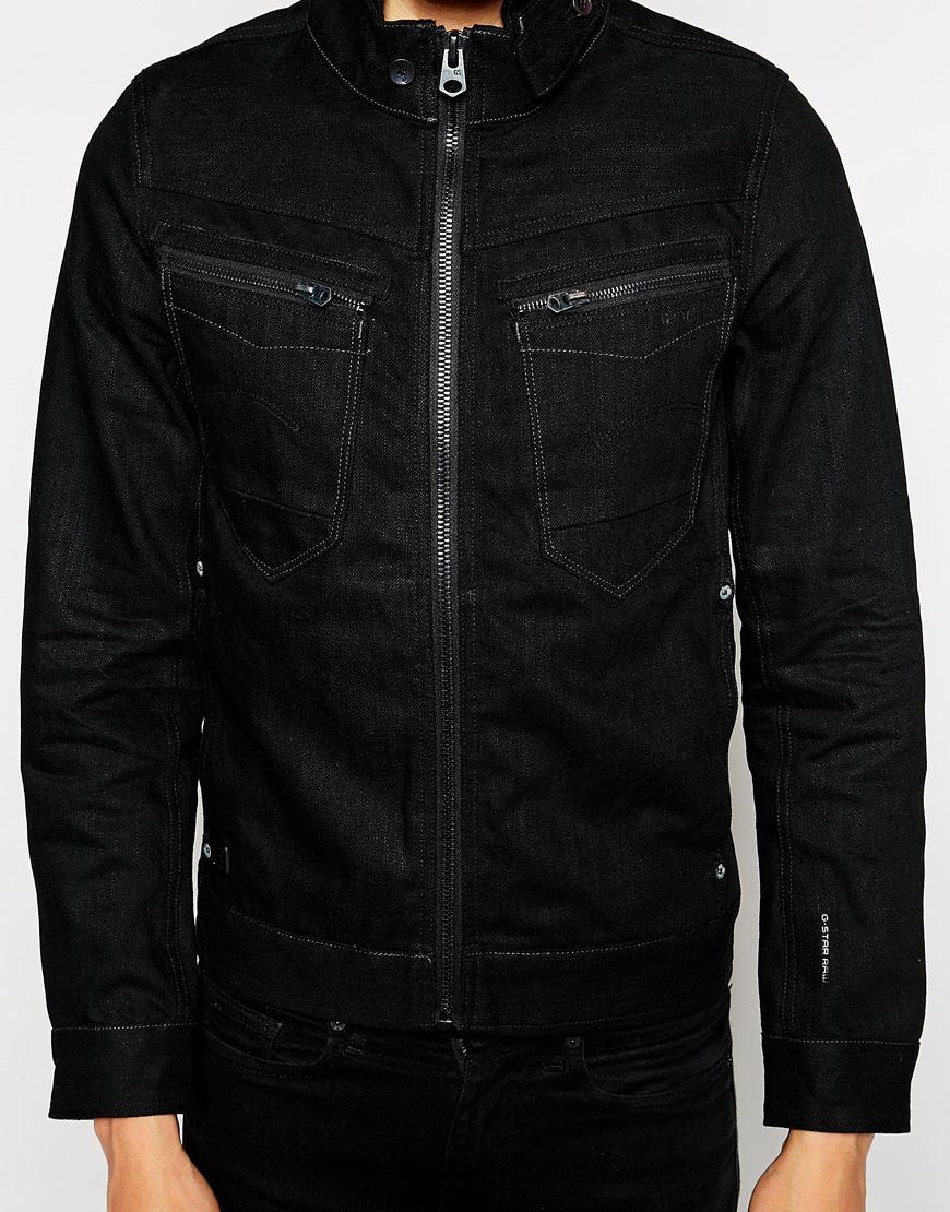 star raw g star denim jacket arc zip slim 3d black 3d raw in. Black Bedroom Furniture Sets. Home Design Ideas