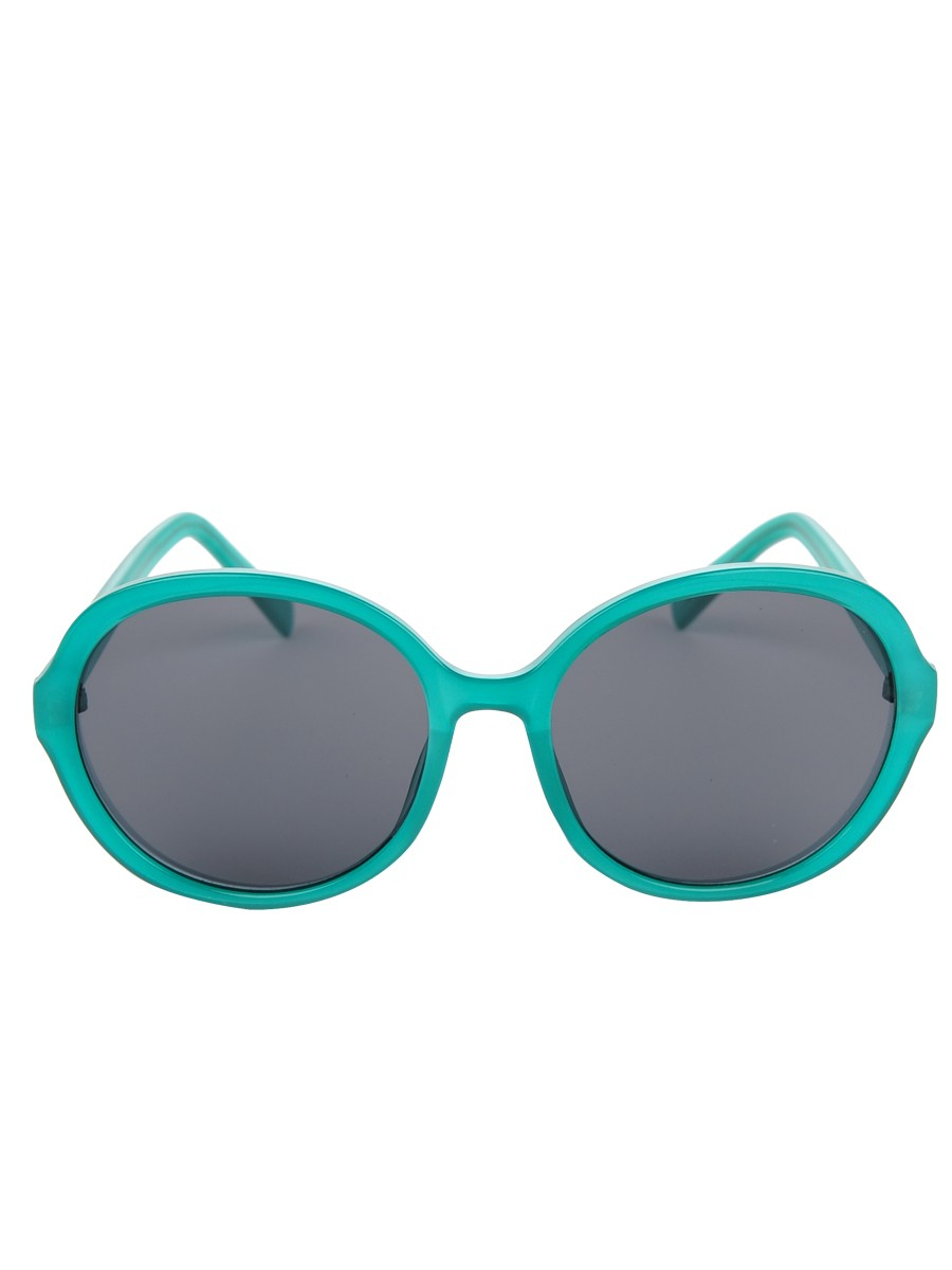 A.j. morgan Round Frame Glasses in Teal Lyst