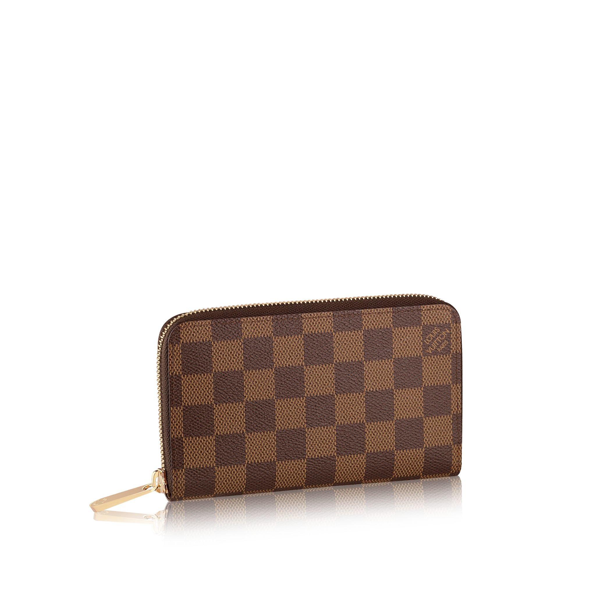 Louis Vuitton Zippy Compact Wallet In Brown Lyst