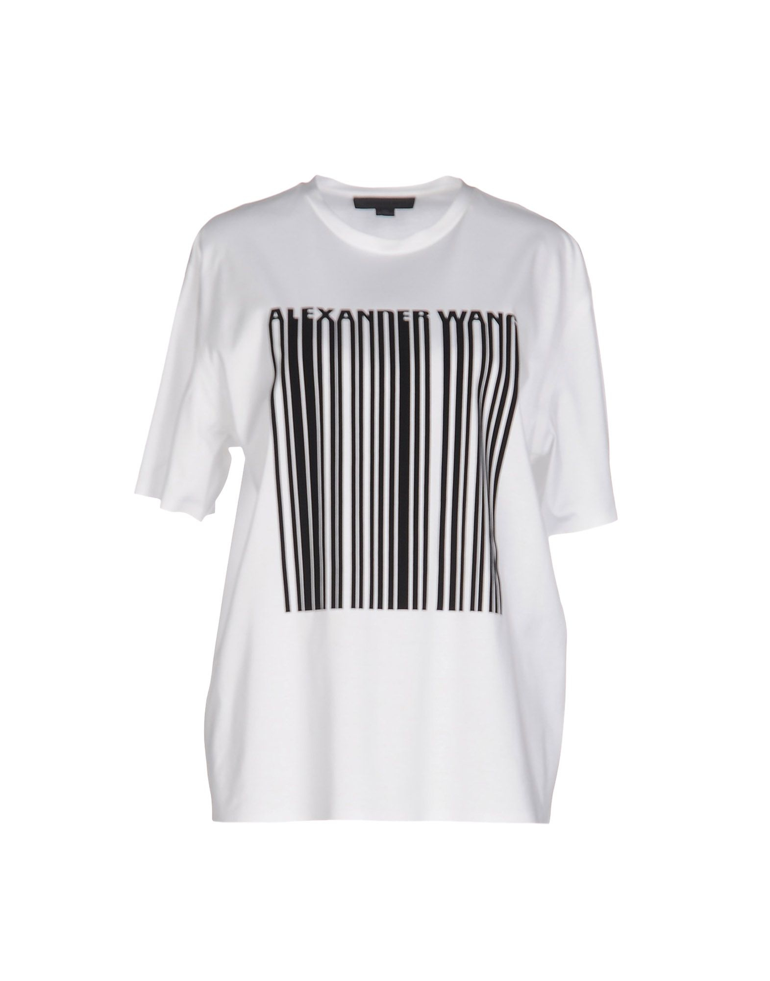 alexander wang t shirt in white lyst
