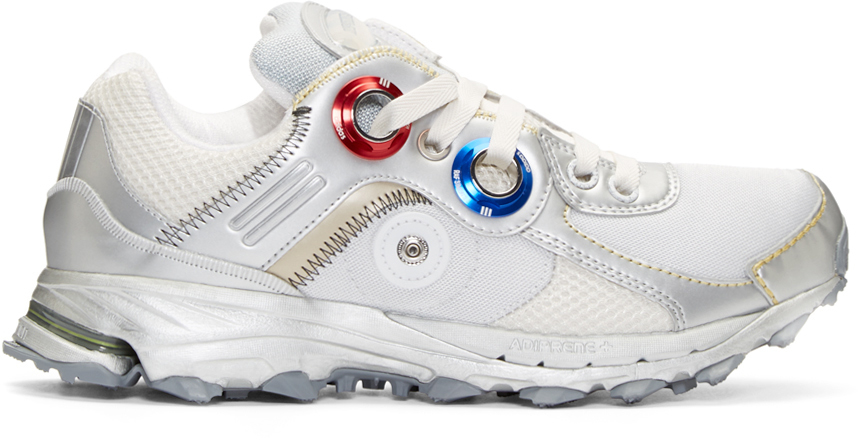purchase cheap c4ef5 e04f3 Raf Simons Metallic Silver Adidas X Response Trail Robot Sneakers for men