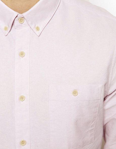 Light Pink Oxford Shirt Oxford Shirt in Light Pink