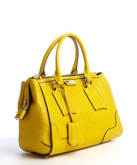 Burberry Yellow Tote