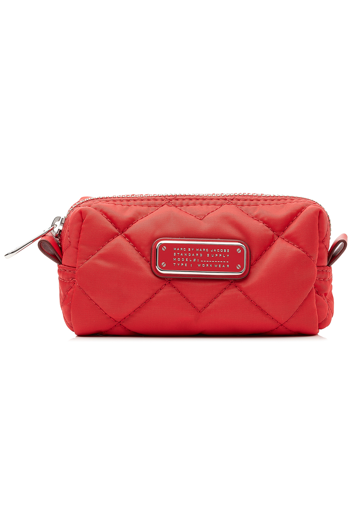 Marc Jacobs Quilted Cosmetic Bag Red Lyst