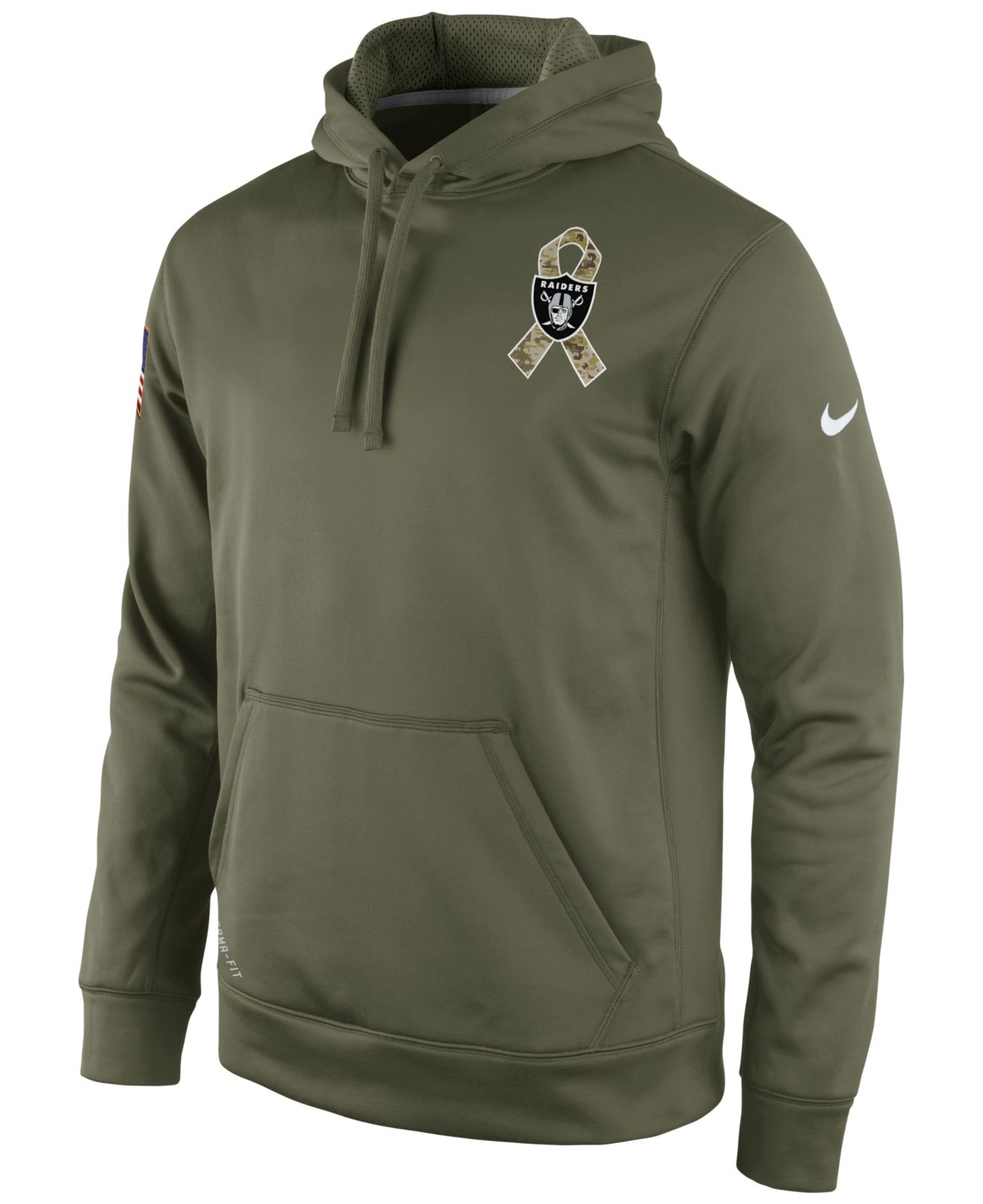 17251669e87 ... netherlands stitched black anthracite salute to service player nike  oakland raiders salute to service ko pullover