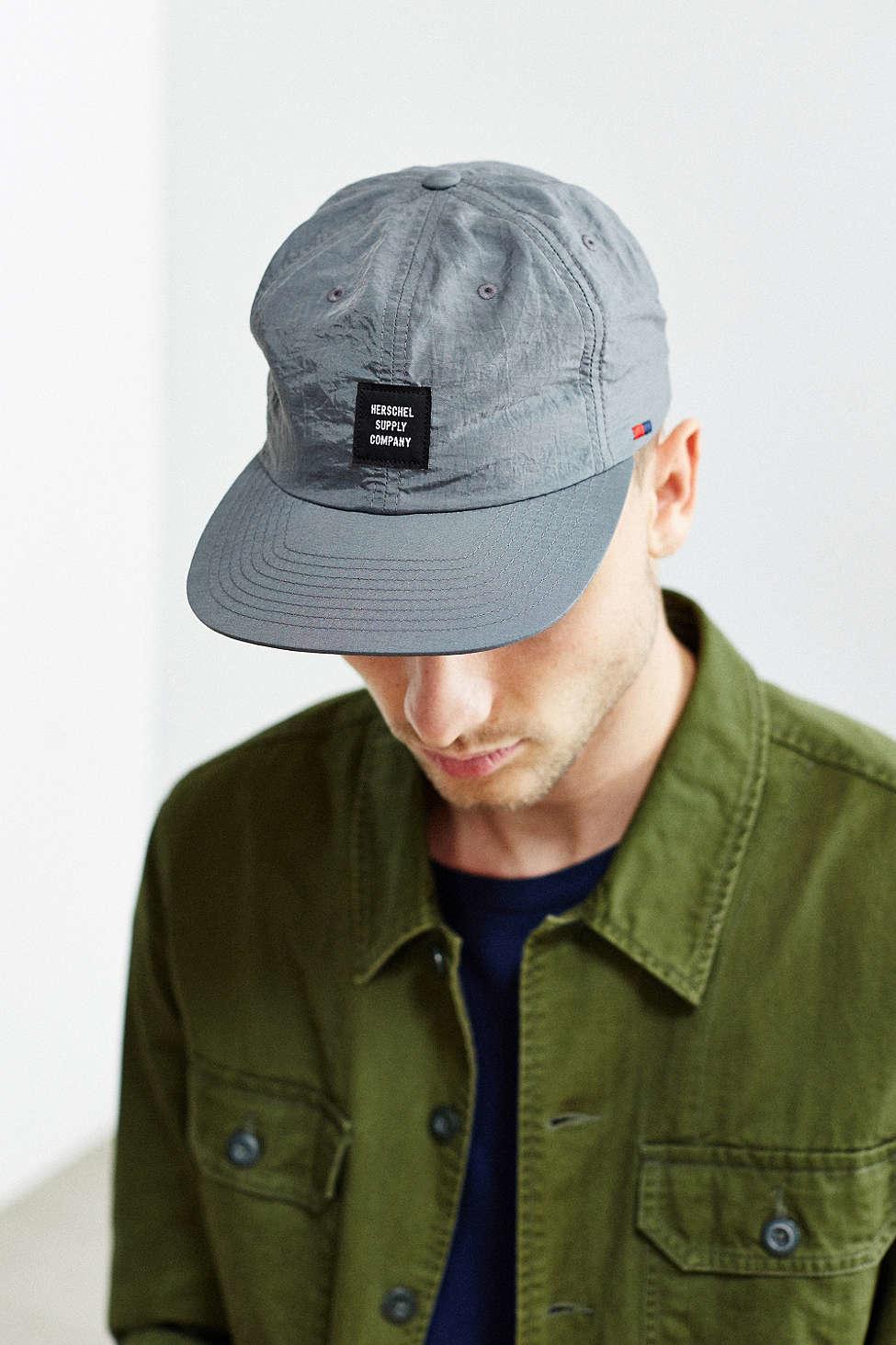 timeless design c1f72 2ed15 Herschel Supply Co. Albert Baseball Hat in Gray for Men - Lyst