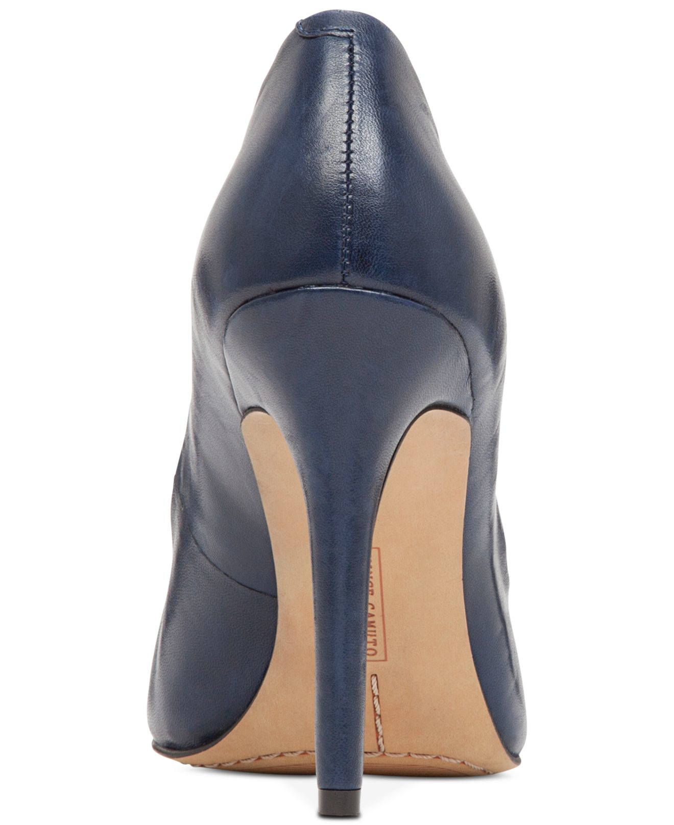 Lyst Vince Camuto Kain Leather Pumps In Blue