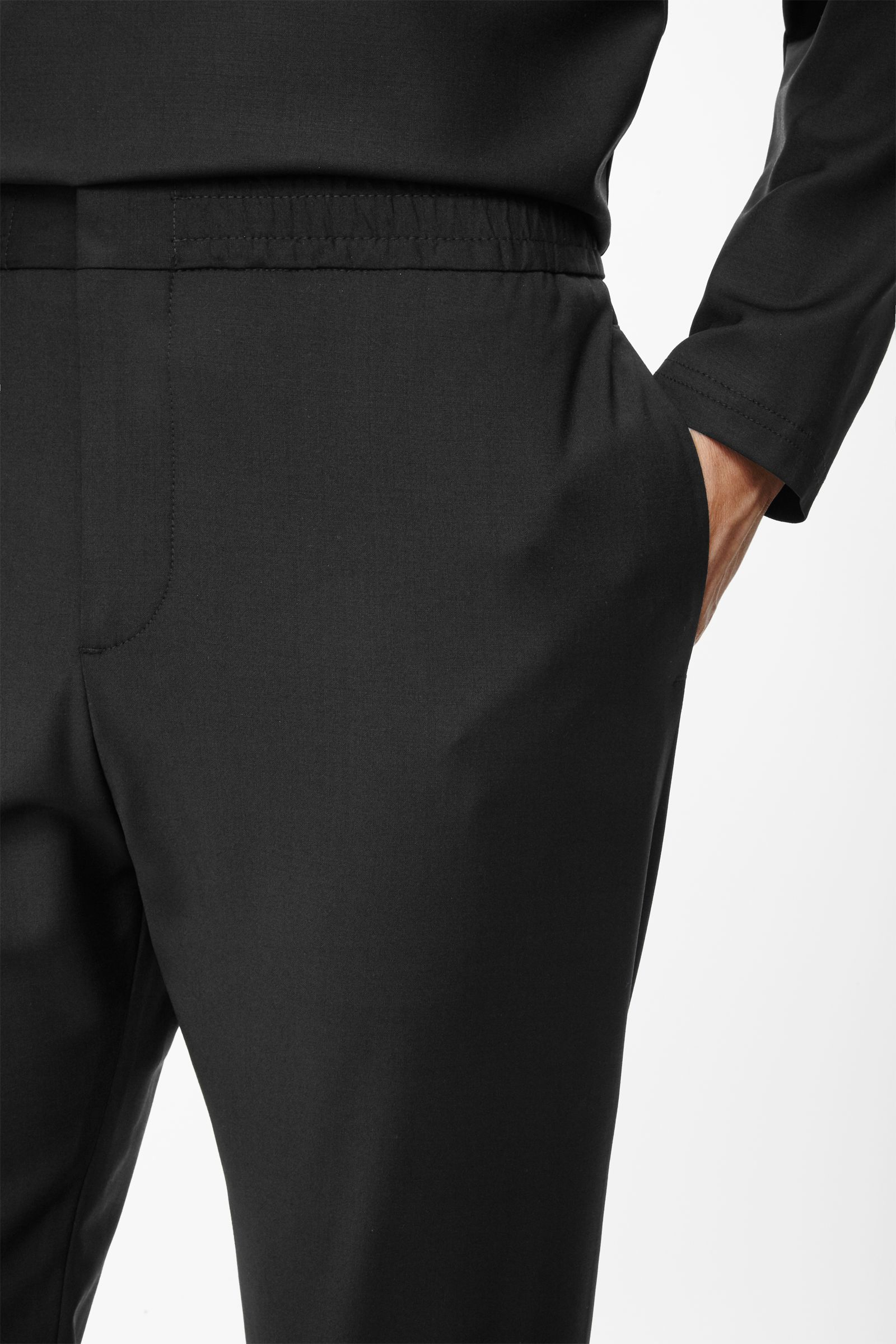 It's never been easier to look stylish and feel comfy with our womens elasticated waist trousers. Perfect for all seasons and any occasion you have our ladies elasticated trousers have been designed with practicality in mind.
