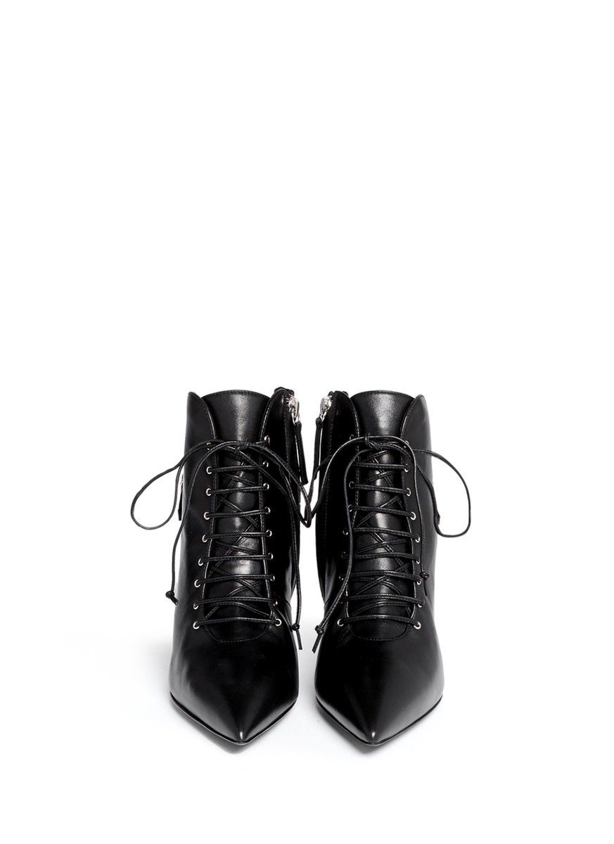 07cd8dcf0fa5c Lyst - Giuseppe Zanotti 'lucrezia' Lace-up Ankle Boots in Black