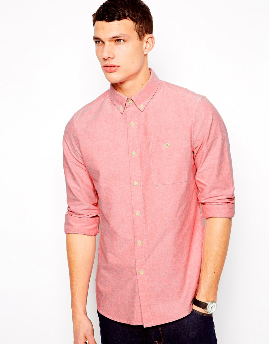 Pink oxford shirt south park t shirts for Pink oxford shirt men