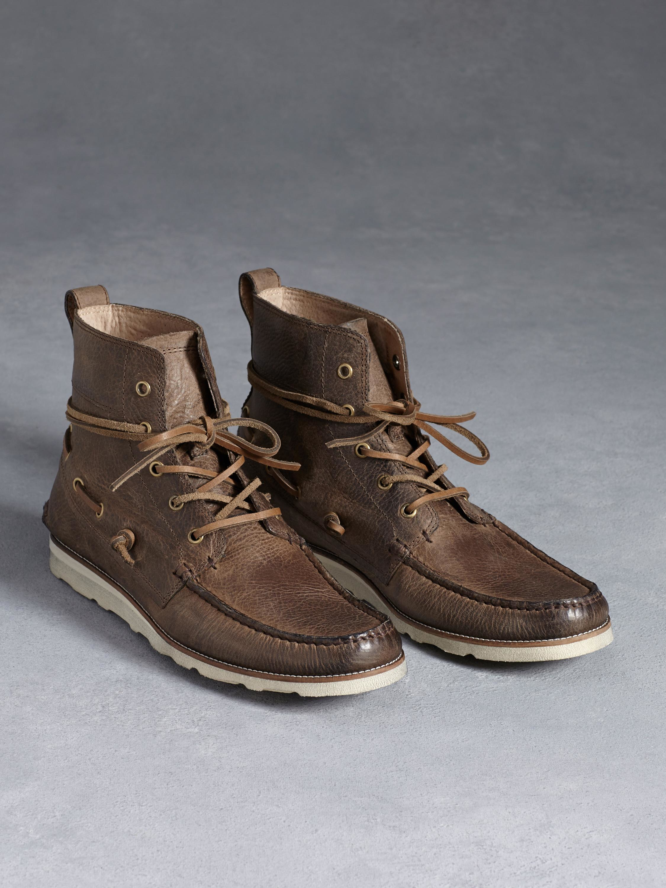 John Varvatos Lugger Boat Boot fashion shoes clearance  hot sale online