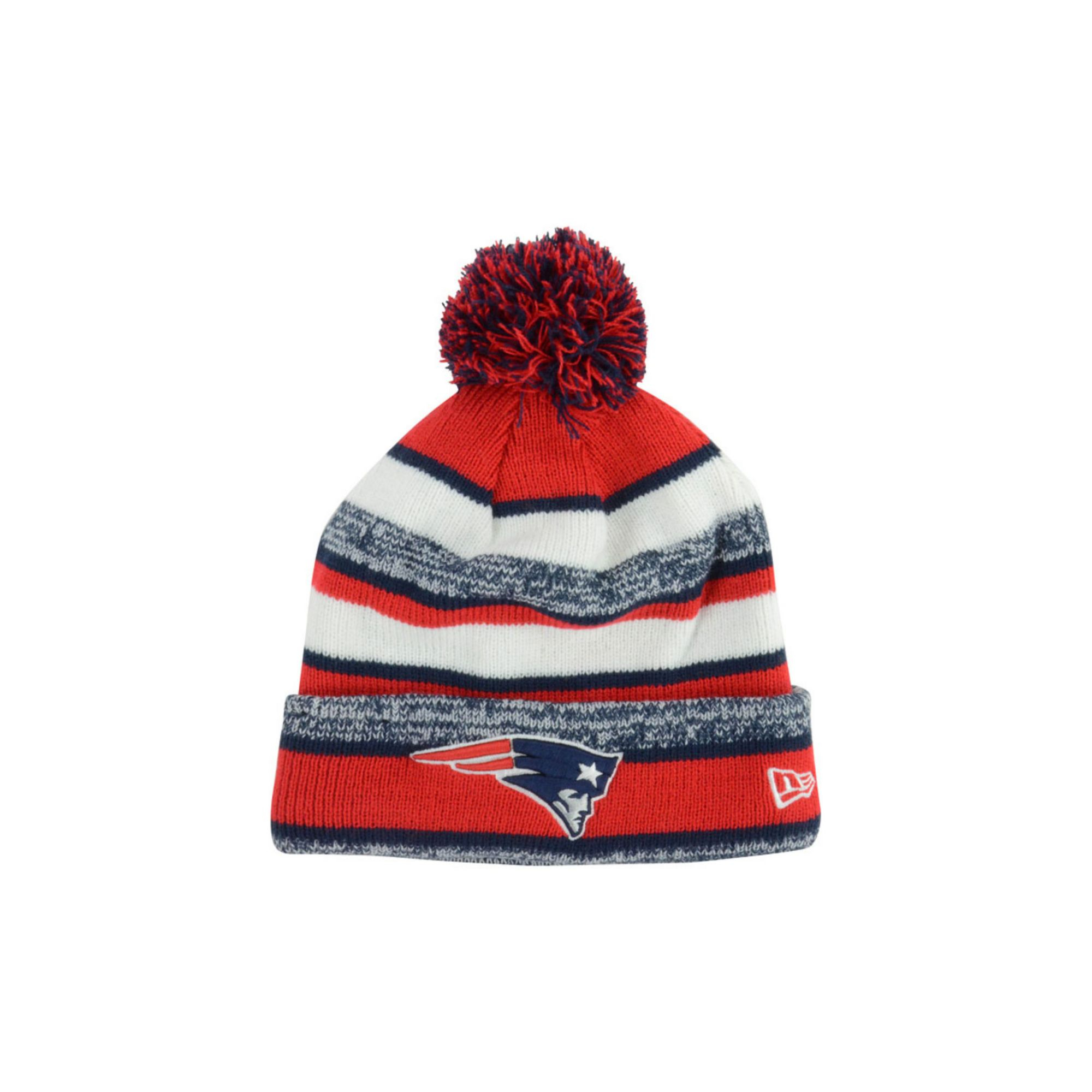 the best attitude b8b94 b1fc2 ... nfl sideline knit 2300e fe292  france lyst ktz new england patriots  sport knit hat in red for men 9fc5a f9256