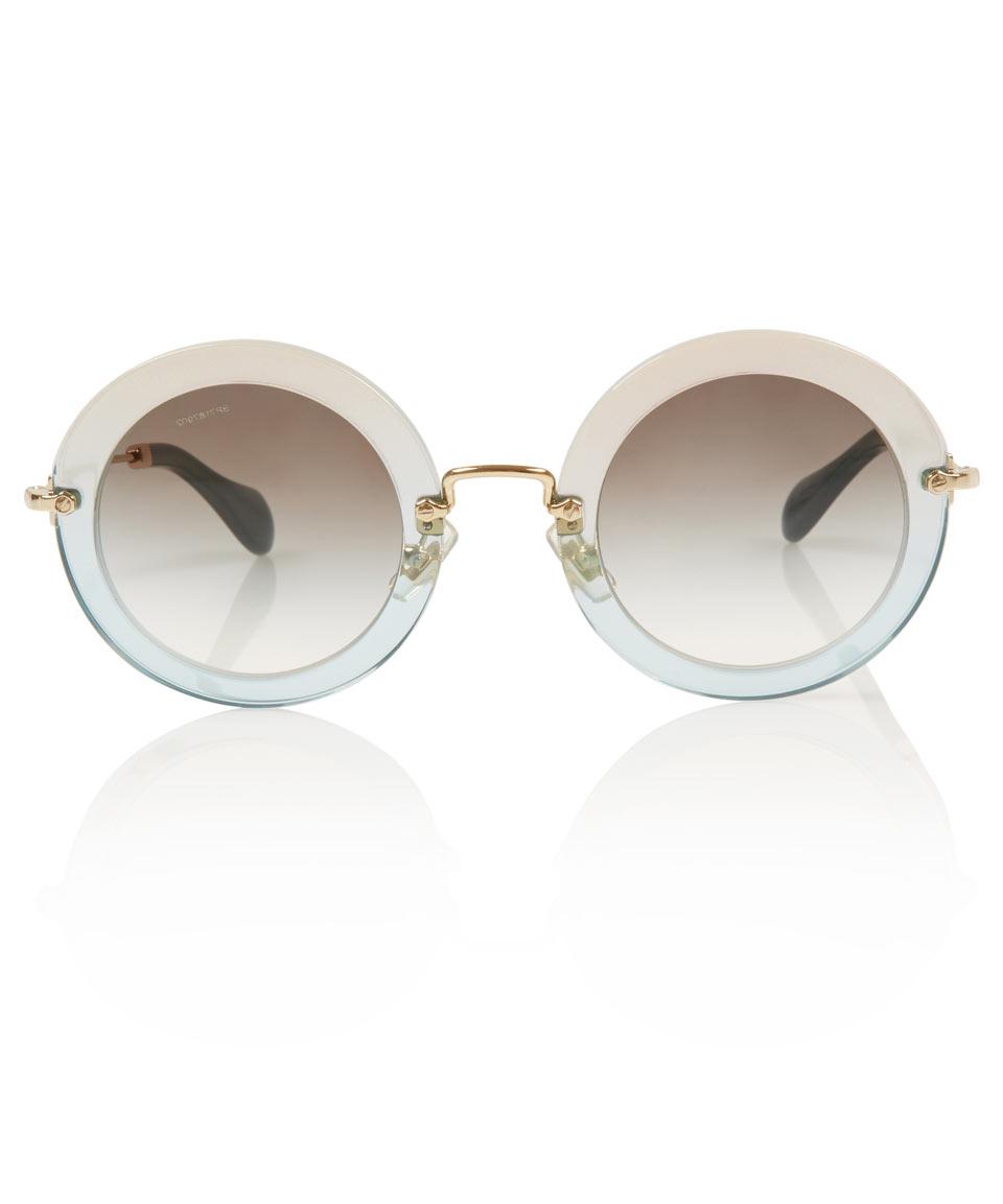 1fd31009eff Miu Miu Sunglasses Round