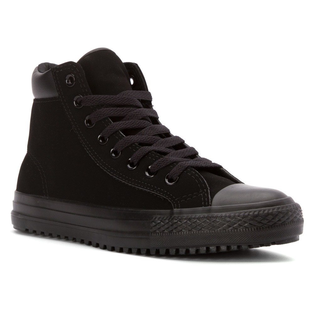 converse chuck all boot in black for lyst