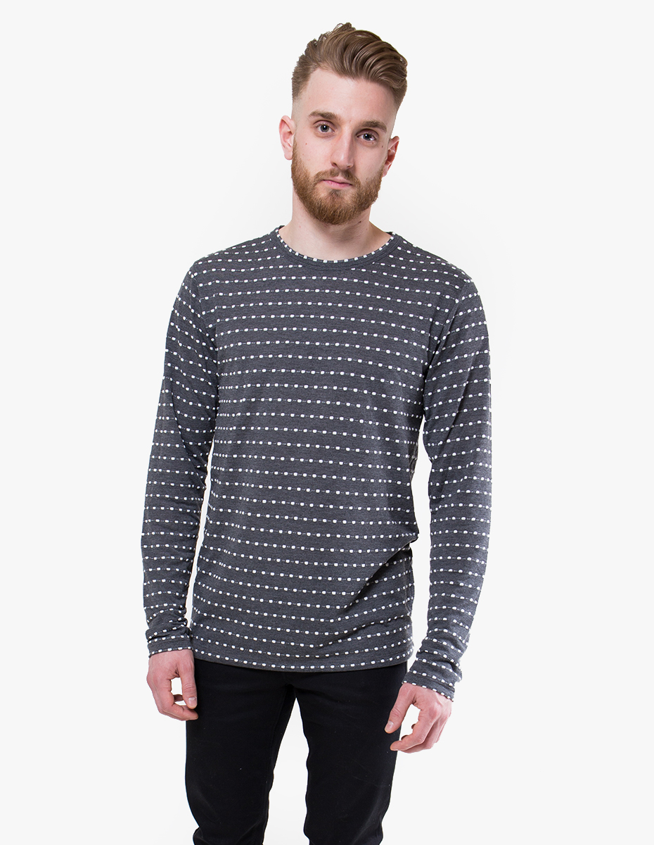 Soulland 39 Wolfgang 39 Long Sleeve Top In Black For Men Lyst