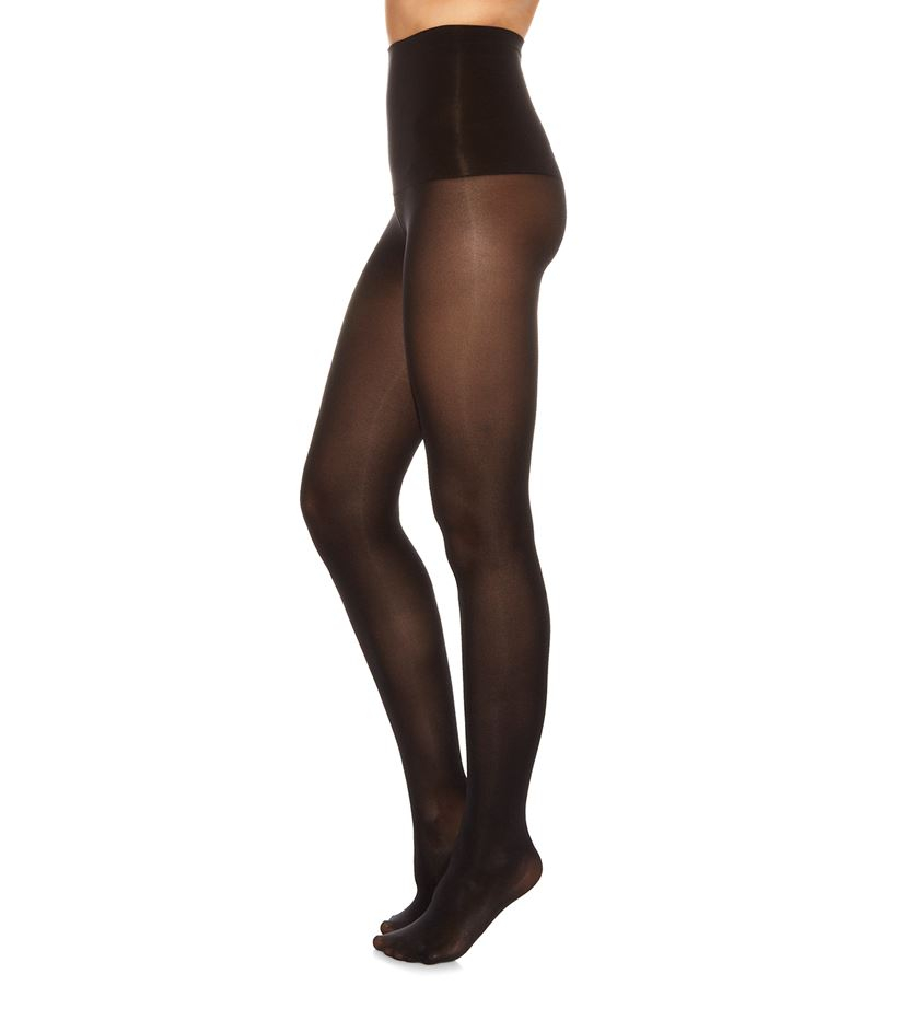 Spanx Haute Contour Tantalizing Taming Tights in Black | Lyst