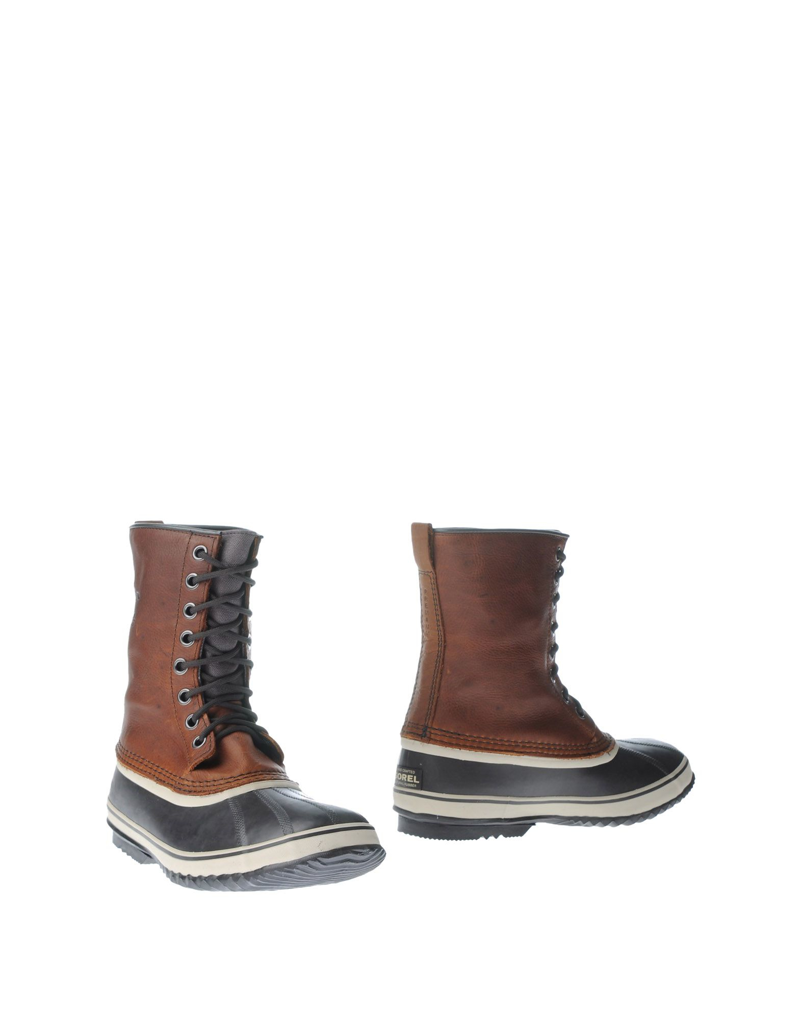 sorel boots in brown for lyst