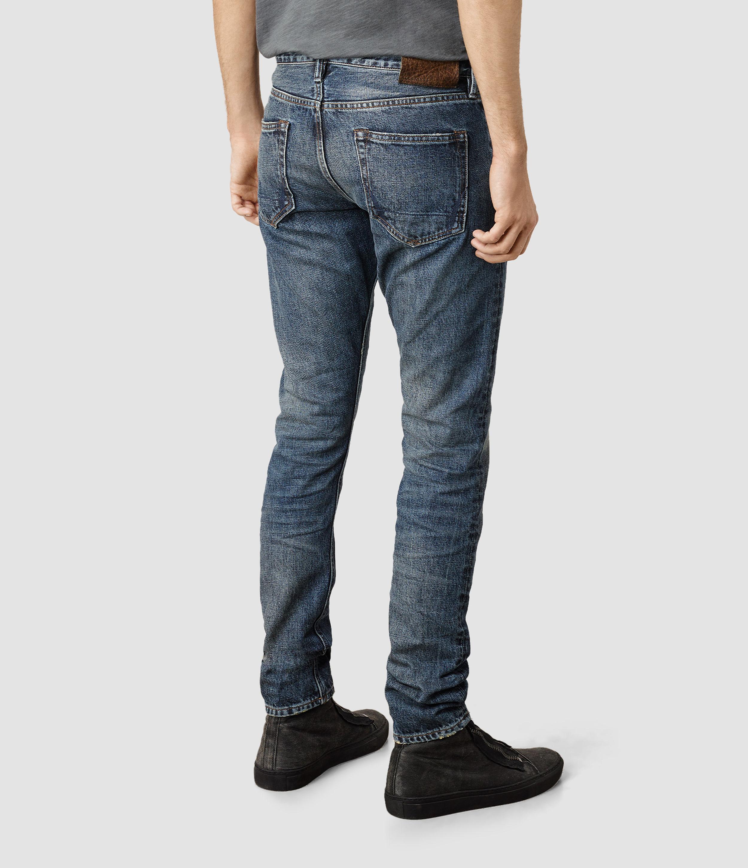 Allsaints Jaypee Pistol Jeans Usa Usa in Blue for Men (Mid ...