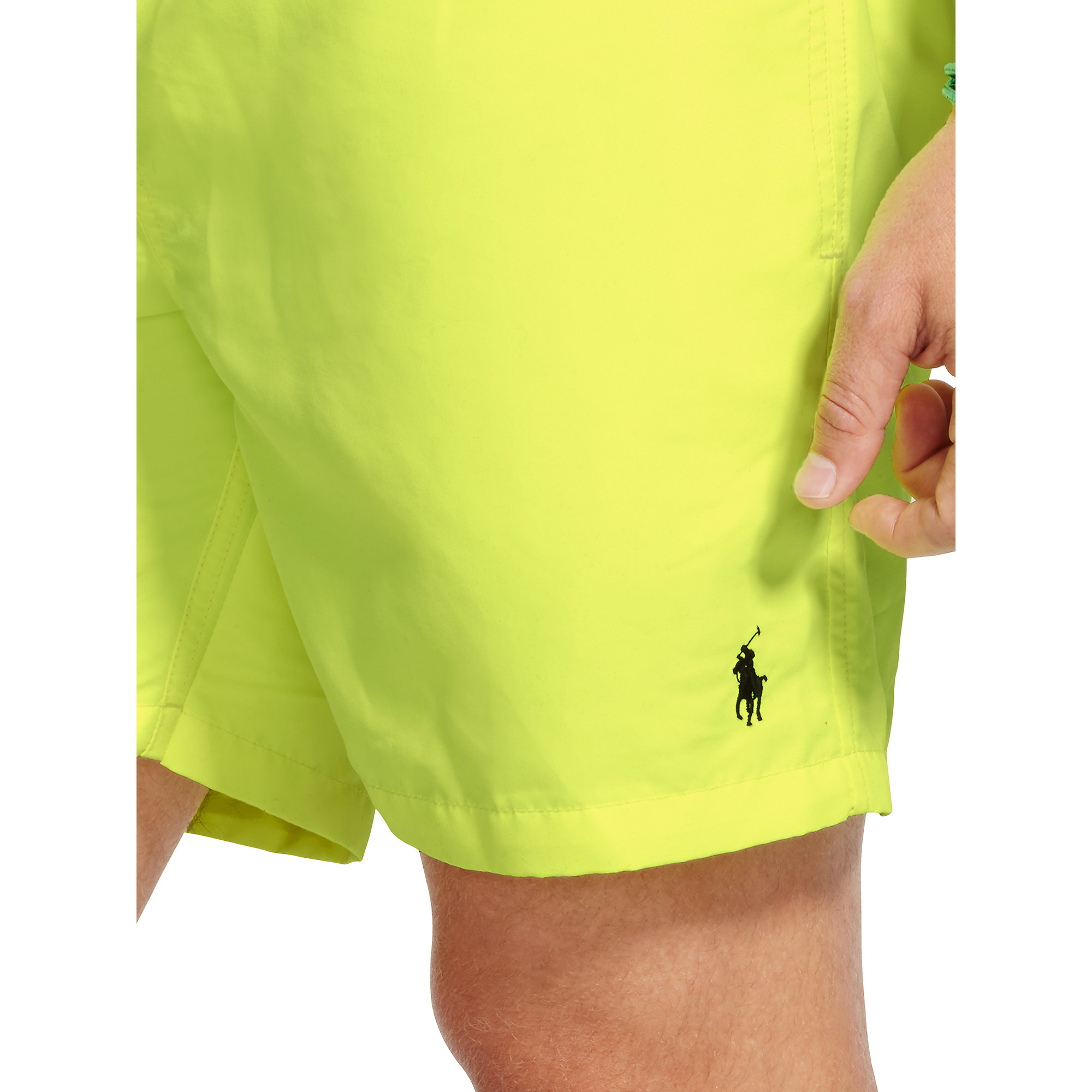 e77583b312 Lyst - Polo Ralph Lauren 5¾-inch Hawaiian Swim Trunk in Yellow for Men