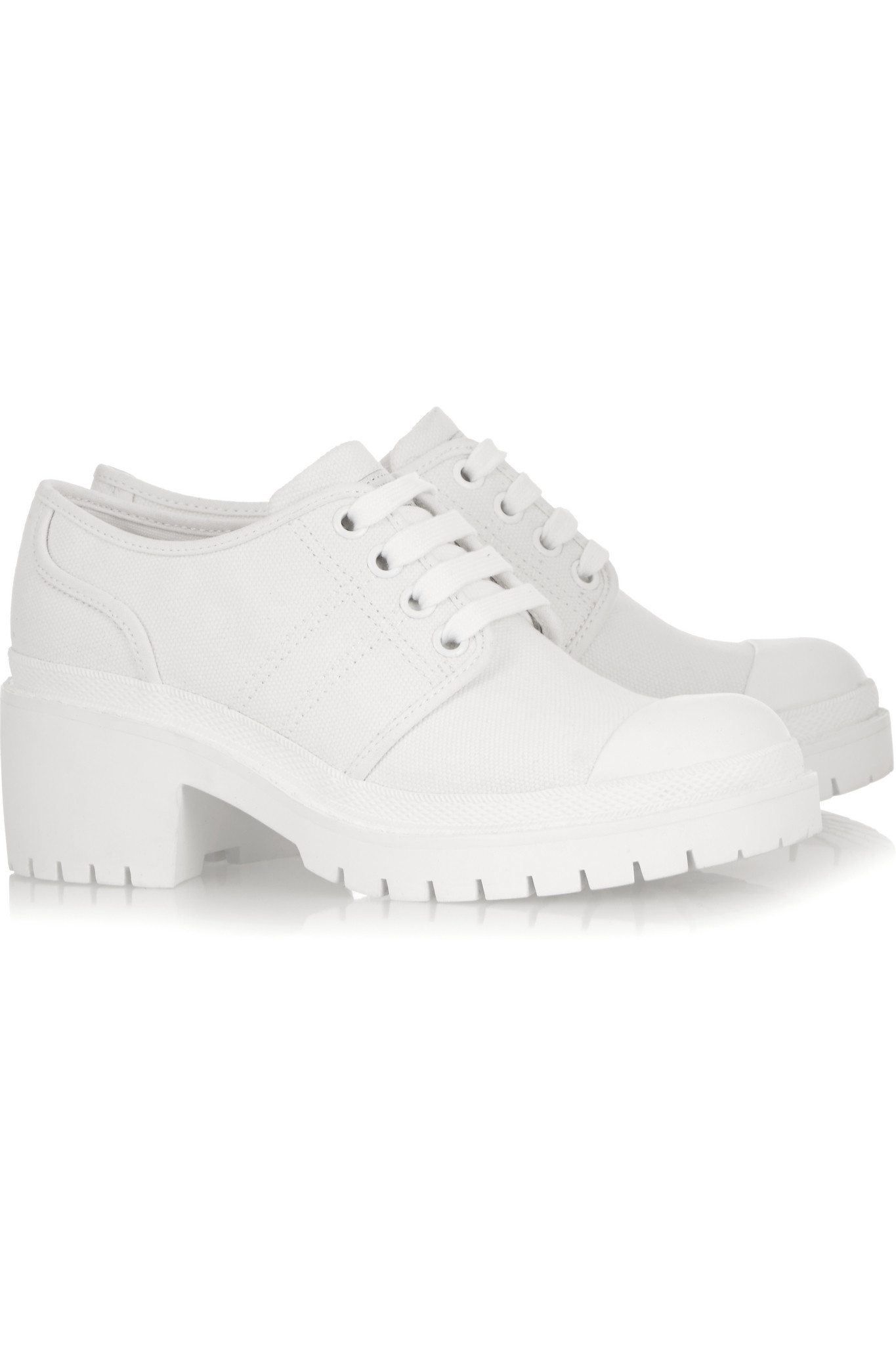 Marc By Marc Jacobs Bond Canvas Sneakers in White