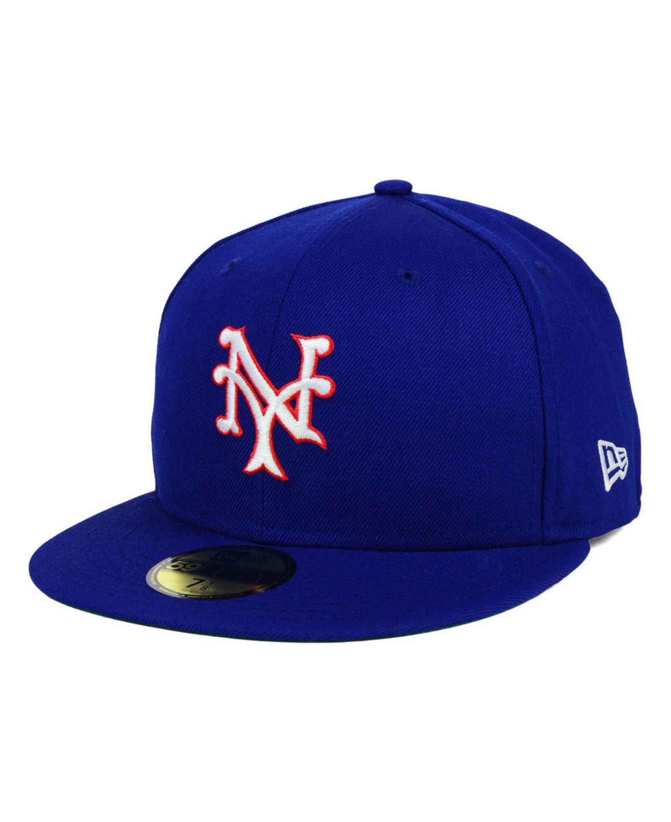 ktz new york giants mlb cooperstown 59fifty cap in blue. Black Bedroom Furniture Sets. Home Design Ideas