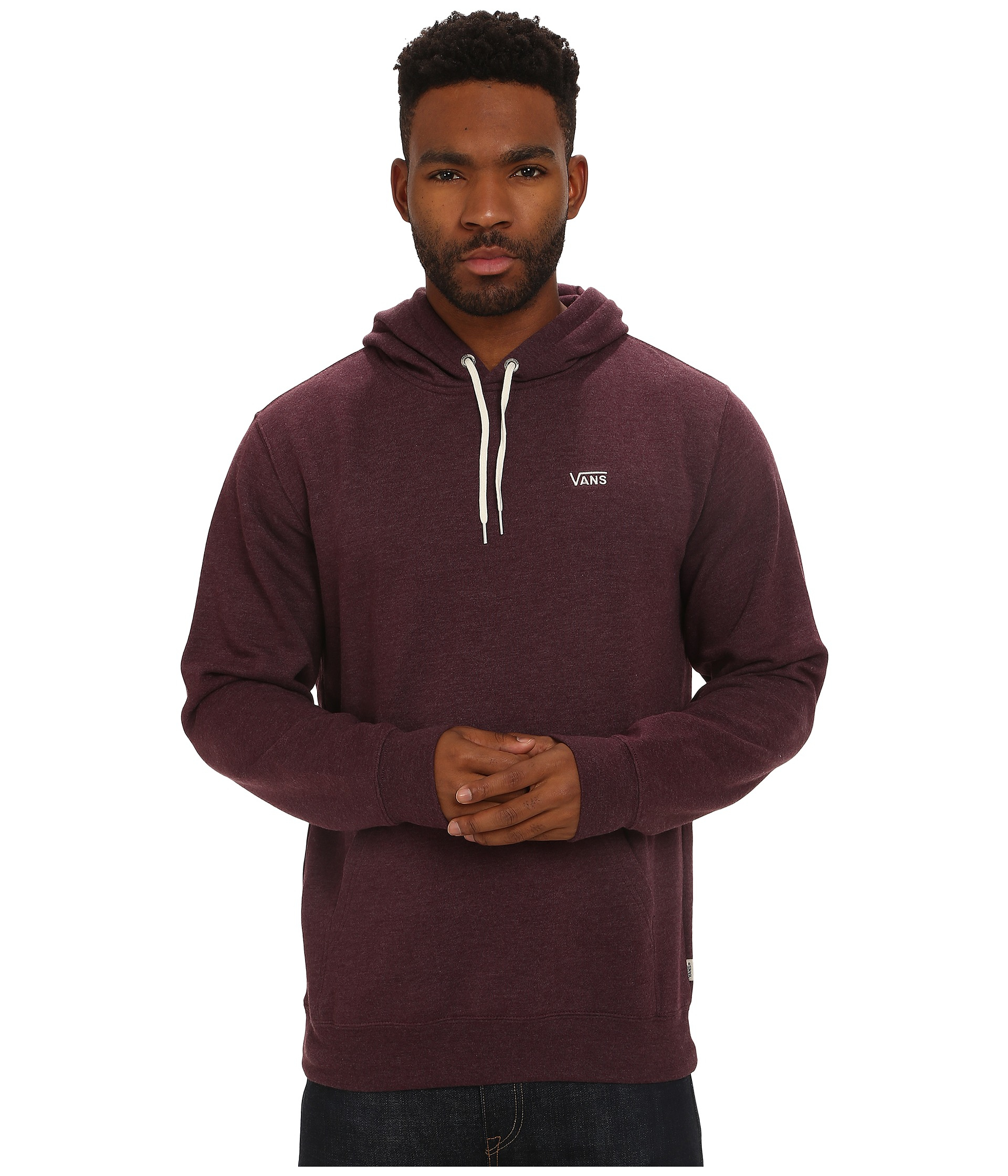 a9d4b6b53a Lyst - Vans Core Basics Pullover Hoodie in Red for Men