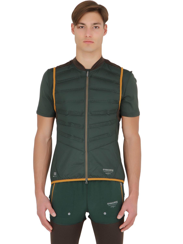 861f11b88c51 Nike Aeroloft Running Vest Jacket in Green for Men - Lyst